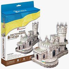 3D Puzzle CubicFun - Swallow's Nest (Crimea, Russia) - 99 pieces
