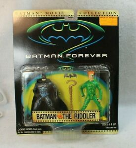 Kenner DC Batman Movie Collection Action Figure BATMAN FOREVER THE RIDDLER
