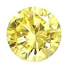 4mm ROUND Naturale Limone quarzo giallo GEM Gemstone