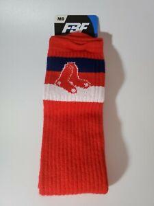 MLB Boston Red Sox Baseball Crew Socks Size Medium 5-10 NEW