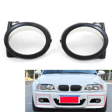 Fog Light Trim Ring Cover Fit for BMW E46 M3 01-06 Durable