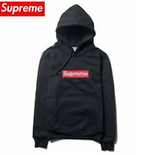 Supreme Box Logo Hoodie // Black Red Bogo Small Very Rare Free Delivery Drake