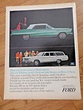 1965 Ford Fairlane 500 Sports Coupe & Wagon Ad