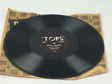"""The Hal Lomen Orchestra Cliff Holland: Down Yonder & Sin - 78RPM Tops Record 10"""""""