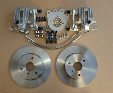 Rear Disc Brake Kit for Smart Roadster + ForTwo 450 & 451 upgrade standard drums