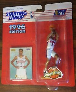 1996 Starting Lineup Allen Iverson ROOKIE action figure M/NM free S/H !!!