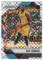 2016-17 Panini Prizm Basketball Starburst Prizm #95 Roy Hibbert Hornets