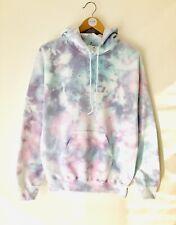 TIE DYE Hoodie Multicoloured Lounge Wear Zara sweater casual Wear Handmade LL GG