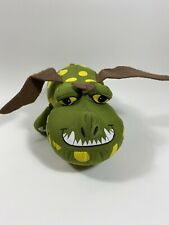 "How to Train Your Dragon 2 Movie Gronckle Dragon Plush Green 10""Stuffed HTF 2016"