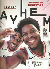 ESPN May 7 2018 DeMar DeRozan Kyle Lowry Raptors Free Fast SnH Best Deal Ebay !!