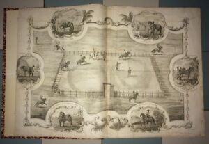 CAVALERIE. SPECTACULAIRE ATLAS DU DRUMMOND DE MELFORD. 1776.