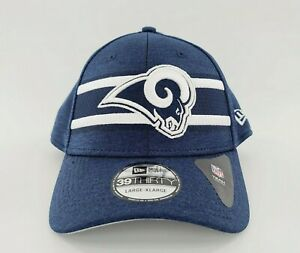 New Era 39Thirty St. Louis Rams Official On Field Base NFL Hat Cap Large/XL NWT