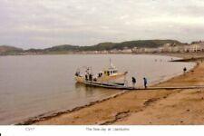Llandudno  The Sea-Jay pleasure cruiser loading on the beach