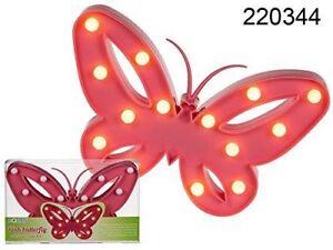 Butterfly Light kids girls room Decor Night Lamp Party Birthday Wedding Light