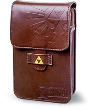 Official PowerA The Legend of Zelda Adventurer's Leather Pouch Nintendo 3DS Case