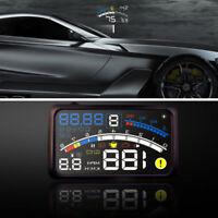5.5'' Universal OBD2 Auto GPS HUD Head Up Display Geschwindigkeit Alarm System