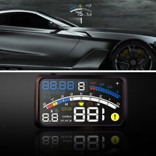 5.5'' Universal OBD2 Auto GPS HUD Head Up Display Geschwindigkeit Alarm System