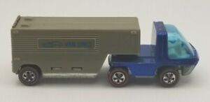 Hot Wheels Redline - Moving Van - Blue