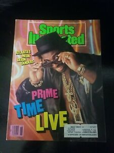Deion Sanders Sports Illustrated 1989 Prime Time Live - Evander Holyfield inside