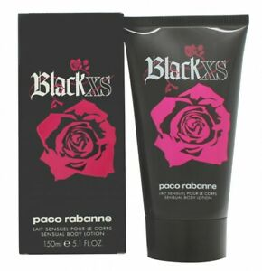 PACO RABANNE BLACK XS BODY LOTION - WOMEN'S FOR HER. NEW. FREE SHIPPING