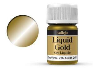 Vallejo Model Color - Liquid 795 - Green Gold - 35 ml - 100 ml / 14,25 €