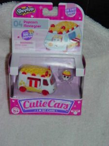 Shopkins Popcorn Moviegoer Cutie Car # 04 Series 1