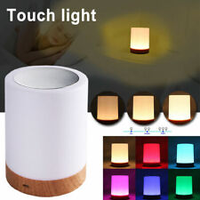 6 Color Rechargeable LED Touch Sensor Dimmable Table Lamp Night Light For Gift