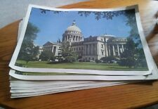 015 15 Vintage Mississippi State Capitol Building Jackson Paper Table Placemats