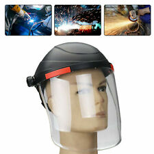 Adjustable Clear Face Visor Cover Shield Safety Workwear Eye Protection Grinding