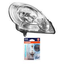 Scheinwerfer rechts für Renault Kangoo Bj. 08->> H4 inkl. OSRAM Lampen