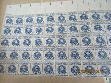 SHEET 50  4 CENT ST.JOSE DE SAN MARTIN  MINT NH U.S.STAMPS SCOTT 1125   1959