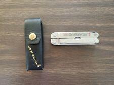 Vintage Leatherman Original Super Tool w/sheath Collectors Item Great Condition!