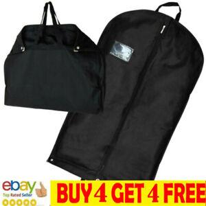 "40"" Foldable Black Suit Cover Clothes Bag Breathable Garment Travel Storage Bama"