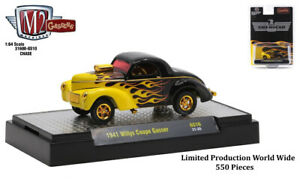 Chase 1941 WILLYS COUPE GASSER 1/64 DIECAST MODEL BY M2 31600-GS10