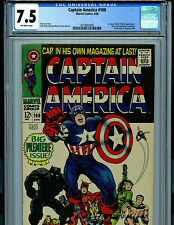 Captain America #100 CGC 7.5  VF- Marvel Comics Black Panther Amricons K20