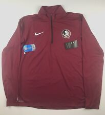 Nike Florida State Mens Large Maroon Element Performance Pullover Jacket NWT $70