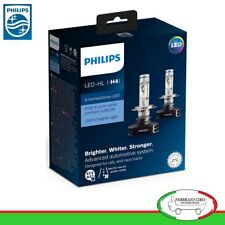 2 Lampadine LED PHILIPS X-tremeUltinon H4 12V 23W faro +200% 6500K 12901HPX2