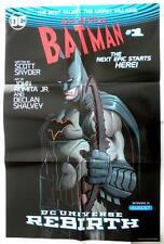 Sdcc 2016 Batman Affiche 32 x 24 Dc Universe Rebirth John Romita Jr Art