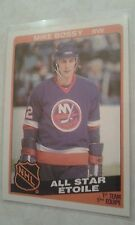 1984-85 OPC O-PEE-CHEE All Star Mike Bossy Card 209 Very Nice Card