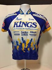 Women's Kucharik Yellow Kings LA Bicycle Store Jersey  SZ S Bicycling Jersey