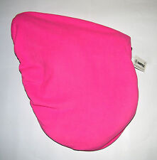 SADDLE COVER PINK FLEECE GREAT QUALITY HORSE RIDING EQUESTRIAN BNWT AMIDALE
