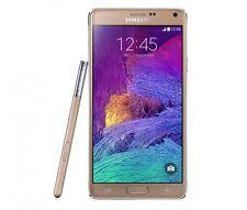 """Oro 5.7"""" Samsung Galaxy Note4 N910A 32GB 4G LTE 16MP GPS Libre Telefono Movil"""