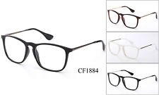 Retro Clear Lens Glasses Eyewear Nerd Office Fake Smart Frames UV Protection
