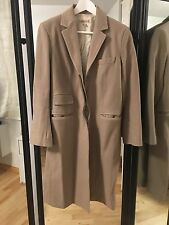 SEE BY CHLOE CAMEL WINTER WOOL COAT SIZE 42 44 AS IS