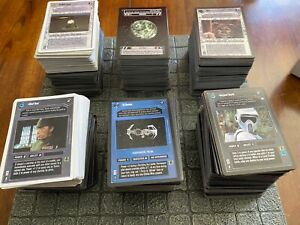 Star Wars CCG Instant Collection - Every Full Set - Draft or New Player lot