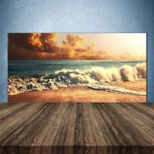 Crédence de cuisine en verre Panneau 140x70 Paysage Plage Mer