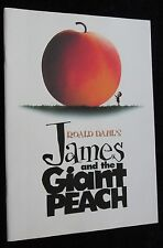 JAMES and the GIANT PEACH  British press kit production note booklet ROALD DAHL
