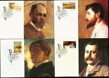 Australia Maximum / Maxi Cards - 1989 Australian Impressionists (Complete Set)