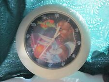 SPACE JAM CLOCK MICHAEL JORDAN BUGS BUNNY 1996 IT WORKS AA BATTERY
