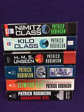 Lot 6 NEW Patrick Robinson - Submarine-Military-Thrillers Ω NEW PB 1st Ed.